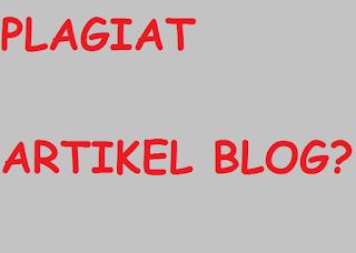 Cara Mengecek Plagiat Konten / Artikel Blog<span class=