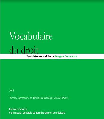 Vocabulaire du droit PDF