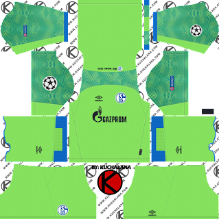 Schalke 04 2018/19 UCL Kit - Dream League Soccer Kits