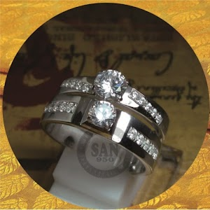 cincin emasputih paladium p5799