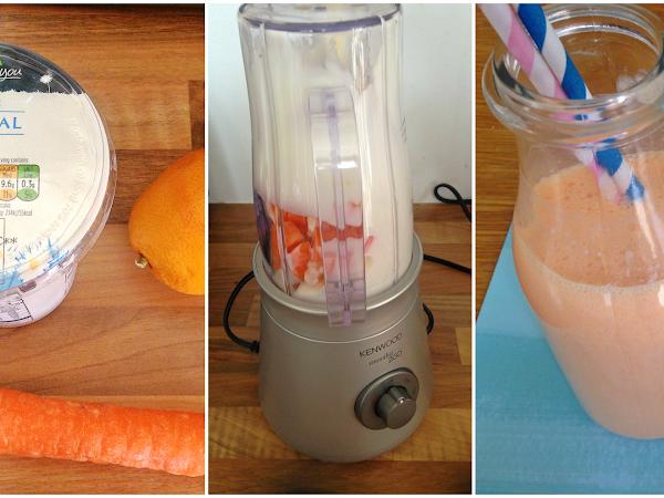 Kenwood Smoothie Maker & Orange Smoothie Recipe!