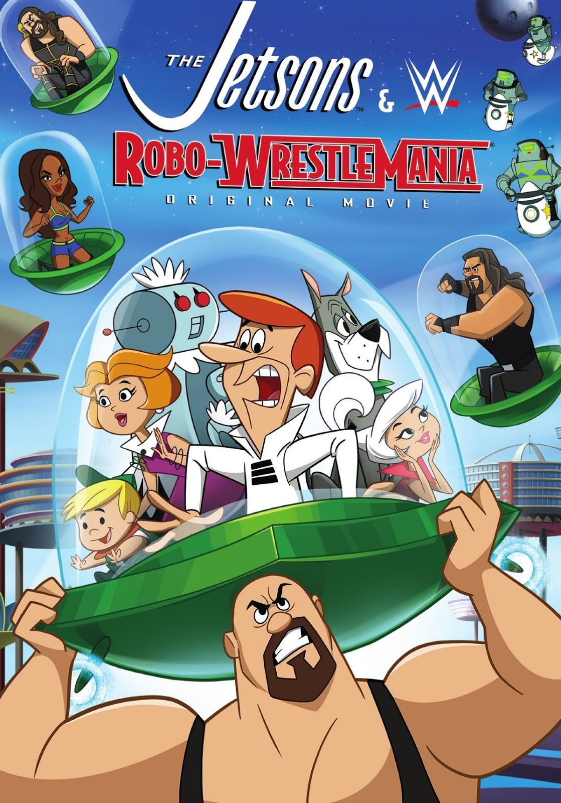 Watch The Jetsons & WWE: Robo-WrestleMania! (2017) Online For Free Full Movie English Stream