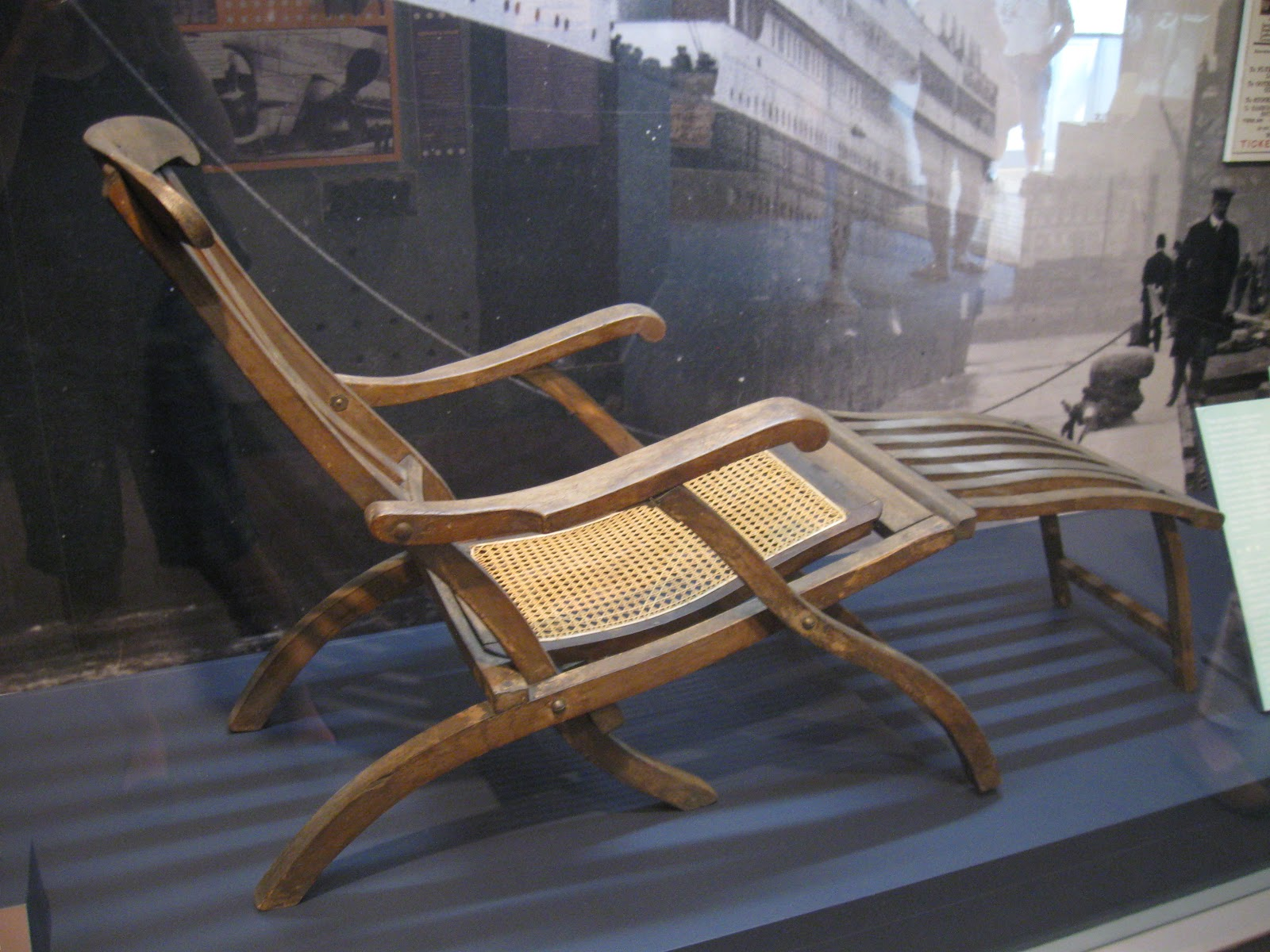 Titanic Deck Chair How We Spend Our Days 100