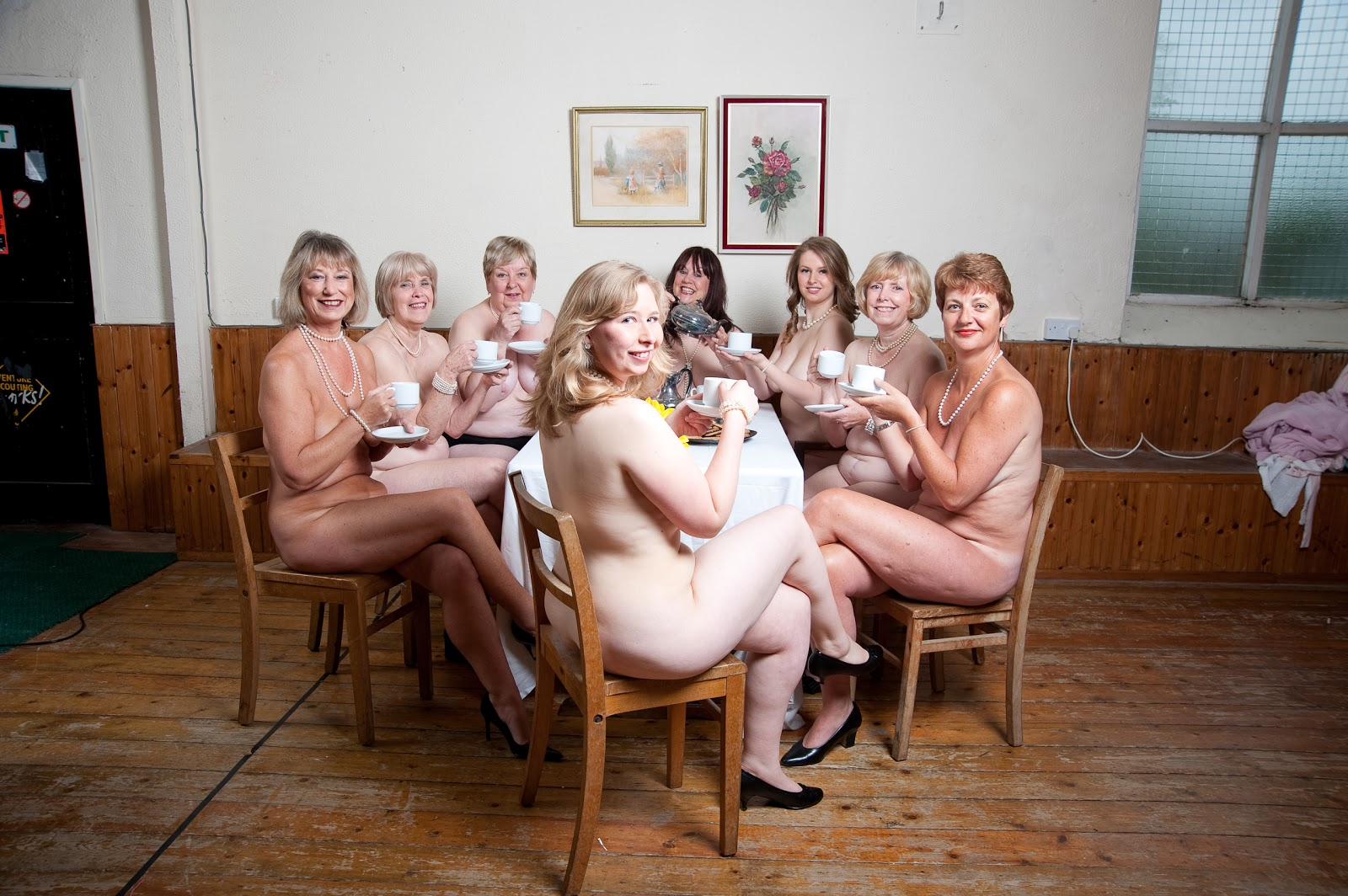 Mature calendar girls