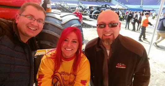 Local drivers steal the show at Monster Jam