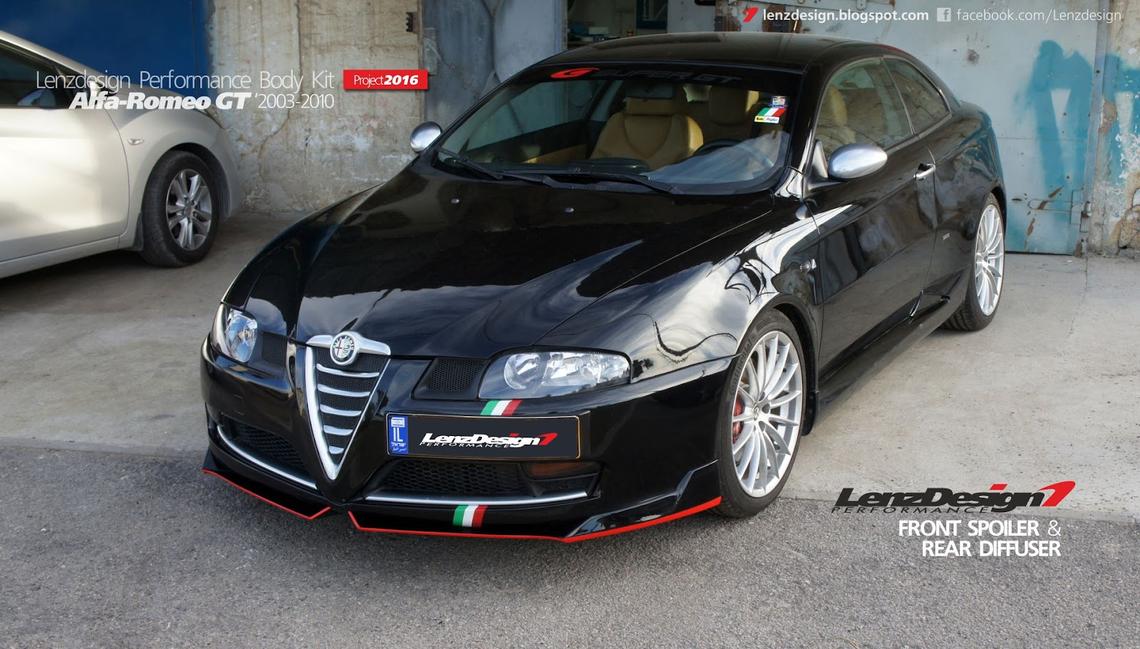 alfa romeo gt body kit lenzdesign performance. Black Bedroom Furniture Sets. Home Design Ideas