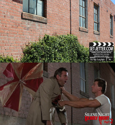Set Jetter Movie Locations And More Silent Night Deadly Night 2
