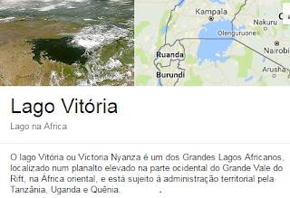 lago Vitória ou Victoria Nyanza