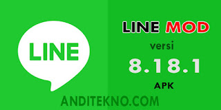 Download LINE MOD APK Versi 8.18.1 Terbaru 2019