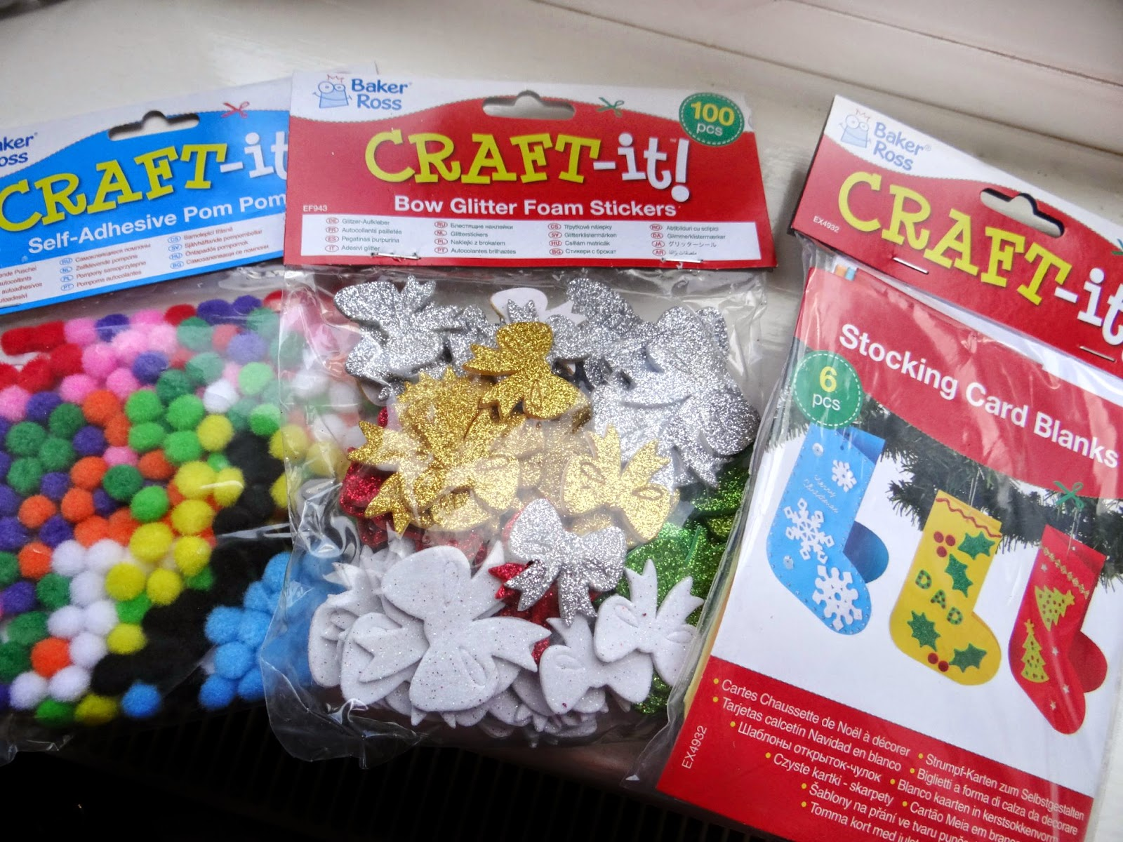 Baker Ross, Christmas craft kit, art and craft kit