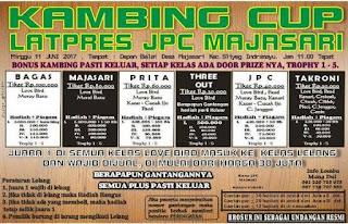 KAMBING CUP! LATPRESS JPC MAJASARI (11 JUNI 2017) MANG DUL