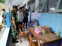 Danrem 071/Wijayakusuma Pantau Pemungutan Suara di Beberapa TPS Wilayah Pemalang