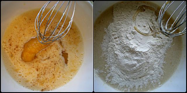 Magdalenas de plátano rellenas de confitura de naranja: elaboración del relleno. Paso 2 de 2
