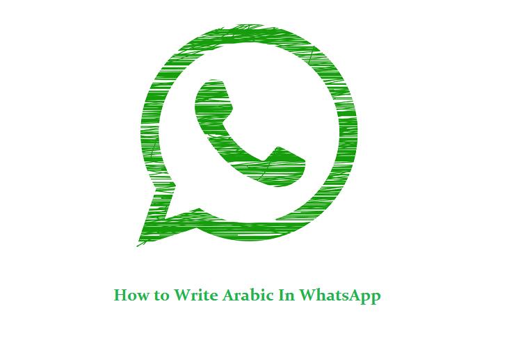 Mengirim Bahasa Arab WA