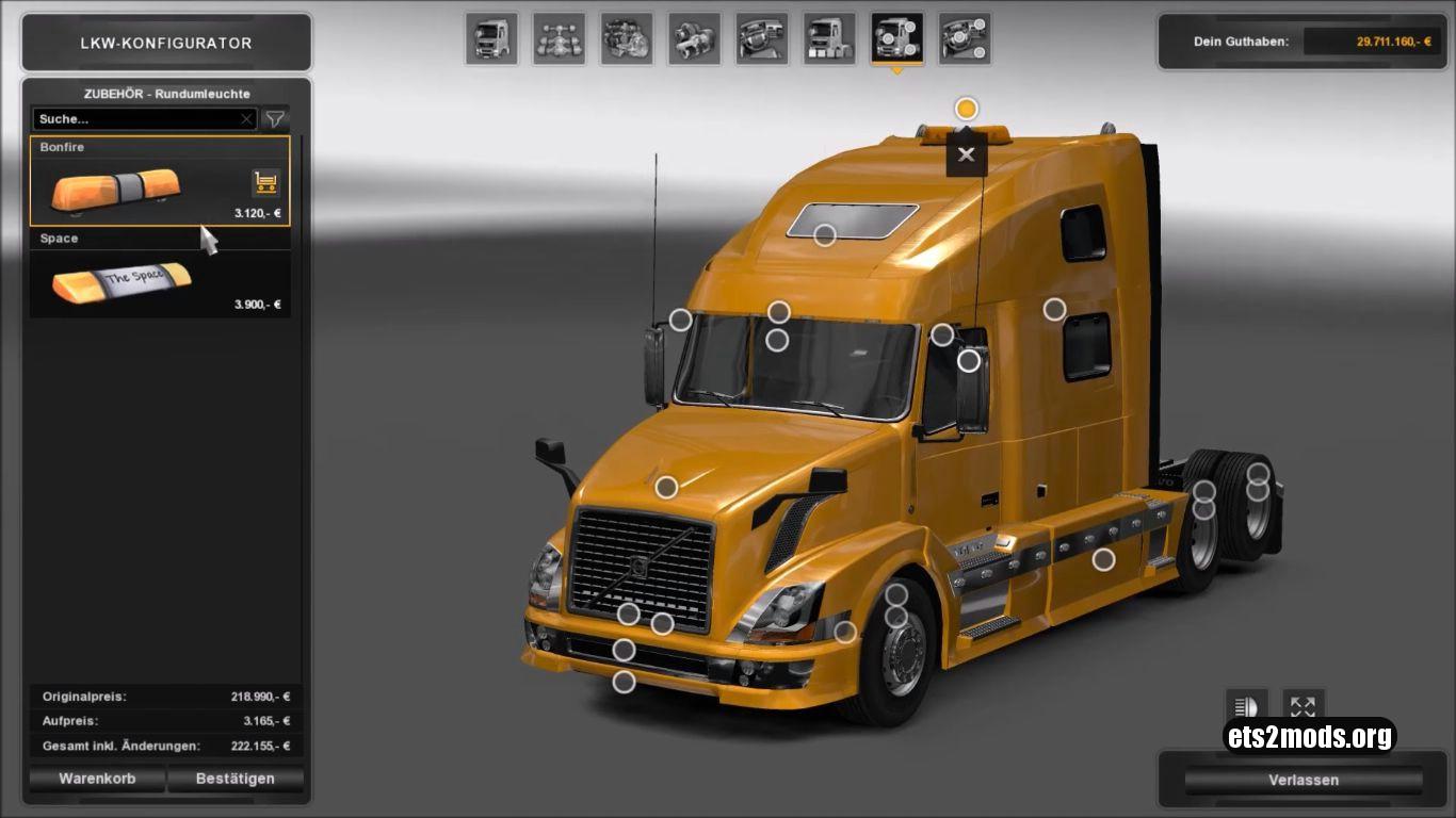 Truck - Volvo VNL 780 [Reworked]