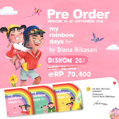 My Rainbow Days by Diana Rikasari