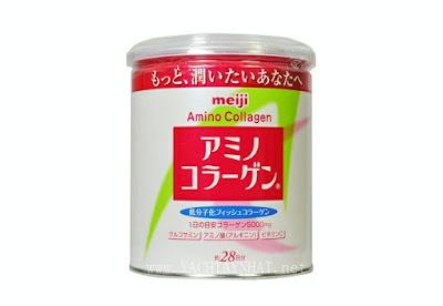 Meiji Amino Collagen dạng bột xuất xứ Nhật Bản