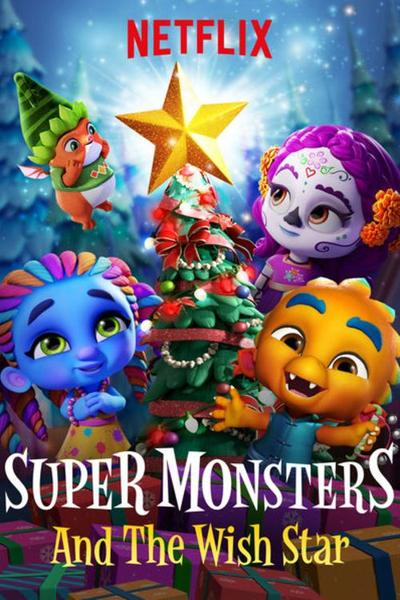 Super Monsters And The Wish Star (2018) Short Movie 720p Dual Audio [Hindi – English] – 170MB