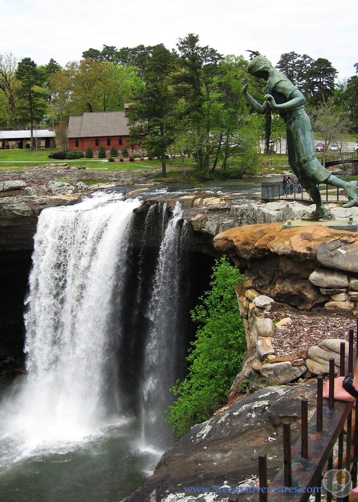 51 Cent Adventures: Noccalula Falls Park - Gadsden, Alabama