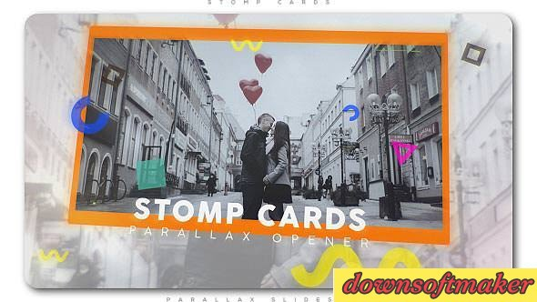 Stomp Cards Parallax Opener 20402797 Videohive - Free Download After ...