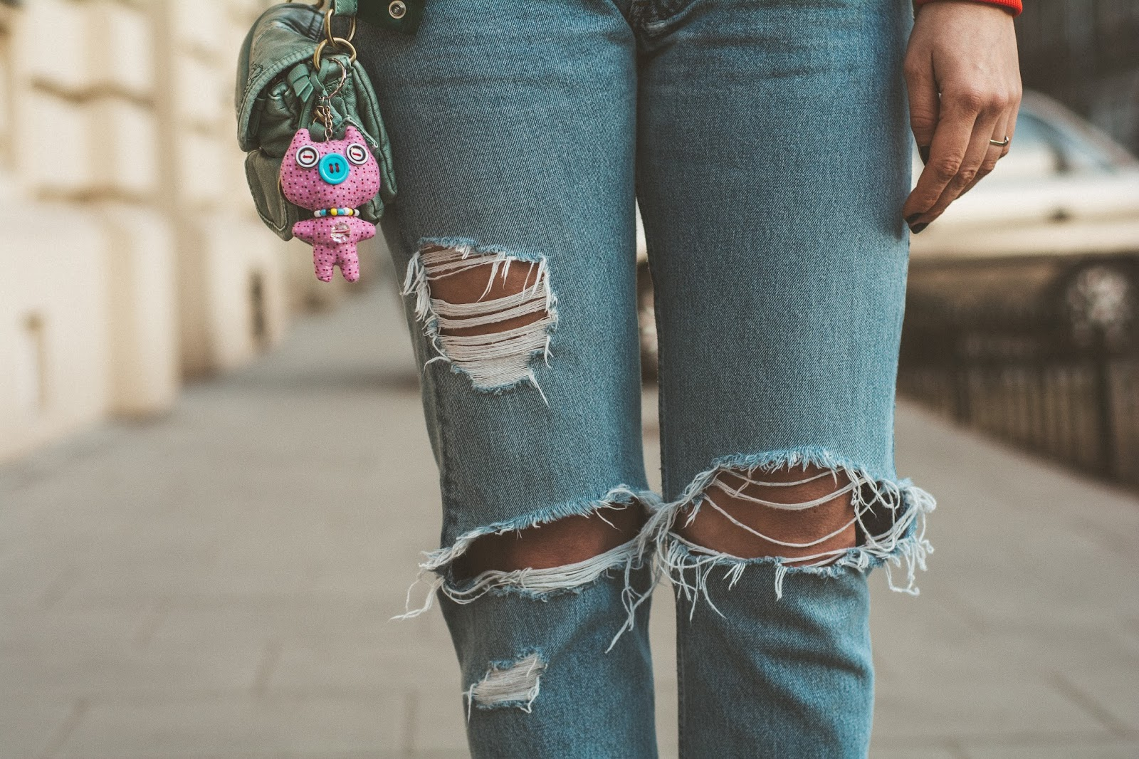 ripped levis jeans