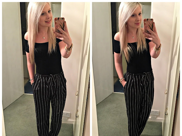 Outfit of the Night | Bardot & Stripes