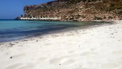 spiaggia lampedusa
