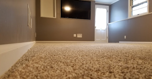 And Finally....Carpet