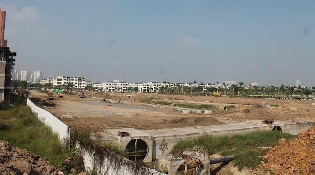 Cập nhật tiến độ đường Nguyễn Văn Huyên kéo dài