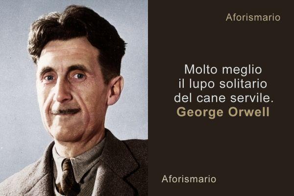 Aforismario Aforismi Frasi E Citazioni Di George Orwell