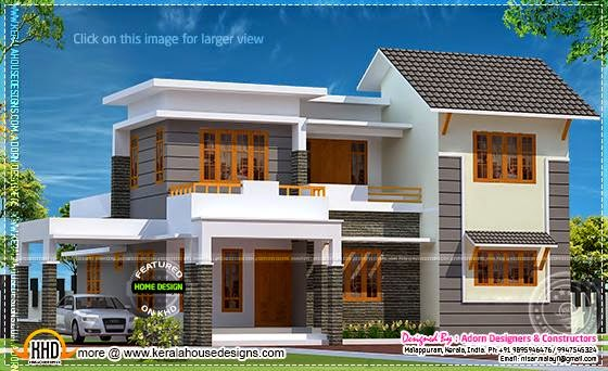 April 2014 kerala home design and floor plans for Elegant house plans photos