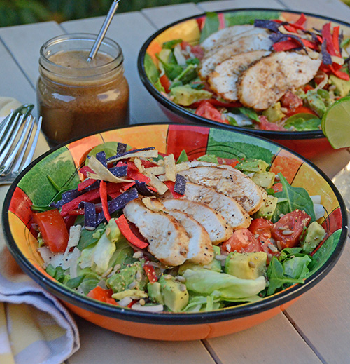 Summer Favorite: Tequila Chicken Salad with Lime Shallot Vinaigrette