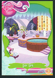My Little Pony Day Spa Series 1 Trading Card