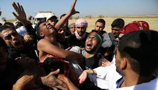 إسرائيل ترفض التحقيق في مجزرة غزة التي خلفت 16 قتيلاً