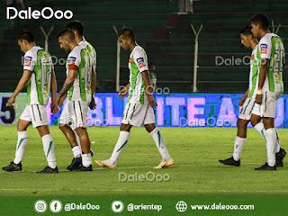 Oriente Petrolero empata con Guabirá 0 a 0 en el Tahuichi - DaleOoo