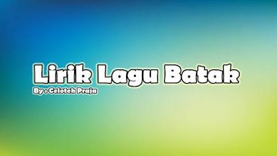 Lirik Lagu Holong Na Parpudi |Ho Do Da Ito |Marlundu Situmorang