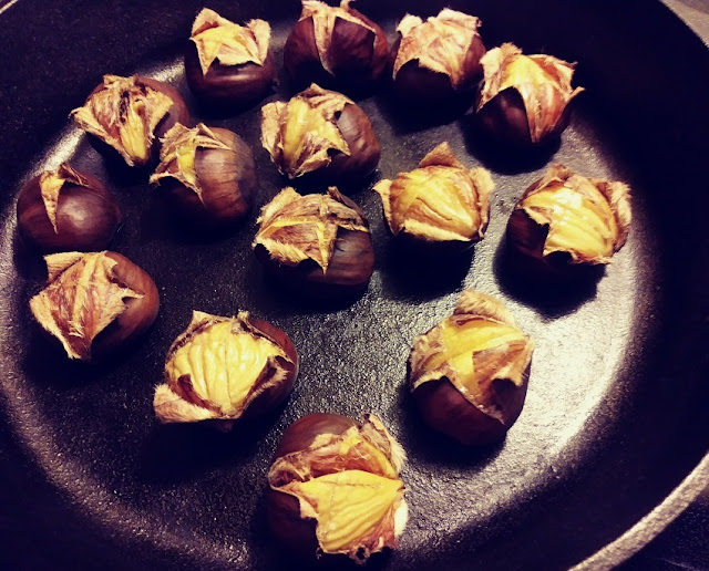 How to Oven Roast Chestnuts