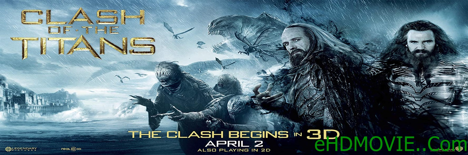Clash Of The Titans 2010 Full Movie Dual Audio [Hindi – English] 720p - 480p ORG BRRip 350MB - 850MB ESubs Free Download