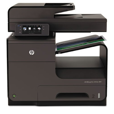 Main functions of this colouring inkjet printer HP Officejet Pro X476dn Driver Downloads