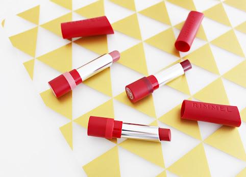Rimmel, The Only 1 Matte Lipstick. Matowa szminka do ust Rimmel. Moje trzy odcienie i opinia. Swatche pomadek.