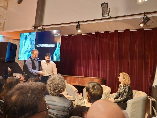 Conférence de presse Angoulême 2019 de Zep et D.Bertail- Paris 2119, Rue de sèvres