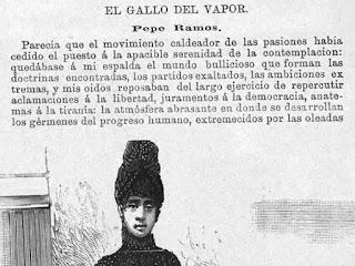 Fragmento del texto publicado en El Correo de la Moda
