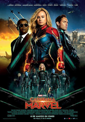 Captain Marvel 2019 DVD R1 NTSC Latino