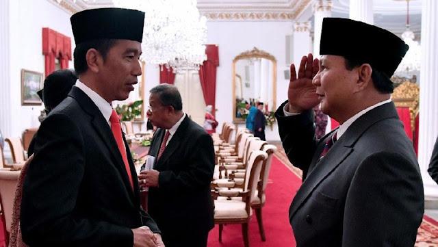 Prabowo Tanggapi Isu Wacana Duet dengan Jokowi