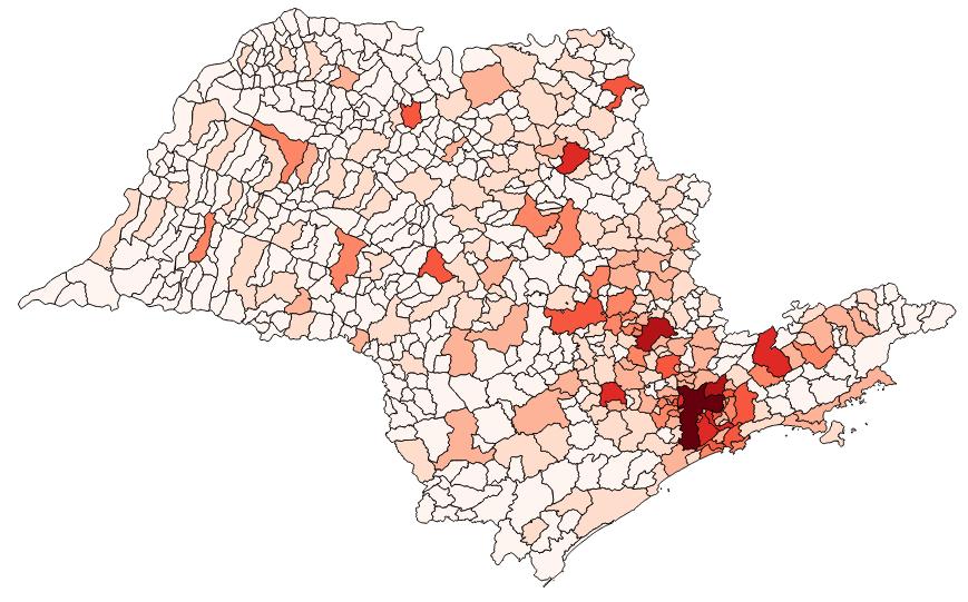 Bairros de São Paulo - Mapa do Município   Mapa de são