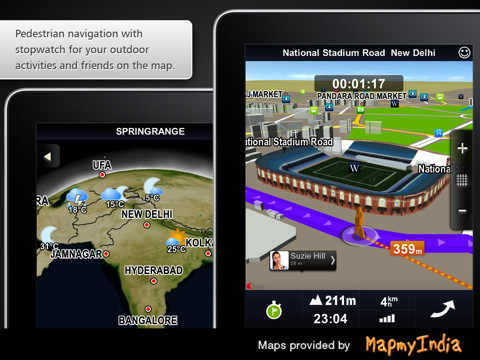 iPhone apps | iphone Navigation apps Sygic India: GPS