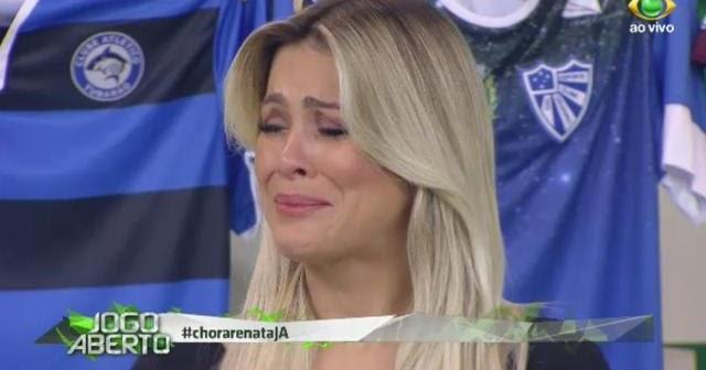 Renata Fan Chora No Jogo Aberto Com Vice Campeonato Do Inter No Rs
