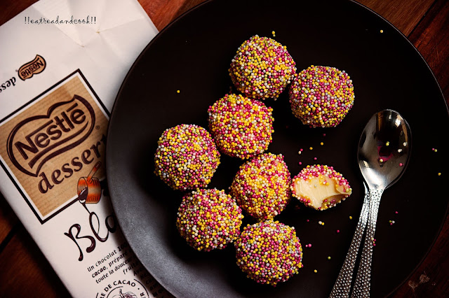 how to make White Chocolate Truffle recipe and preparation