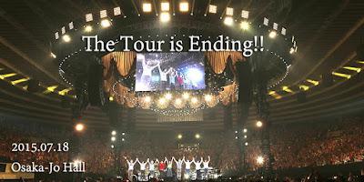 """O encerramento da Turnê """"Ikimonogakari no Minasan KonniTour2015 Fun! Fun! Fanfare!"""""""