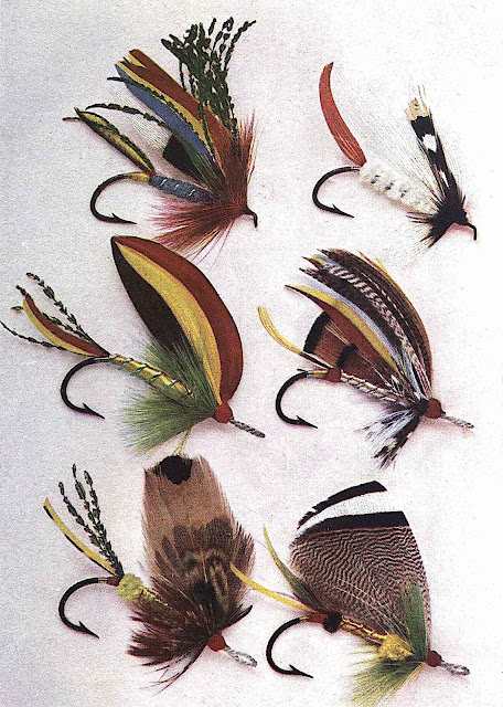 Louis Rhead fly-fishing lures